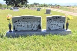 Owens Tablet Gravestone