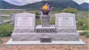 Rozman Wing Style Monument