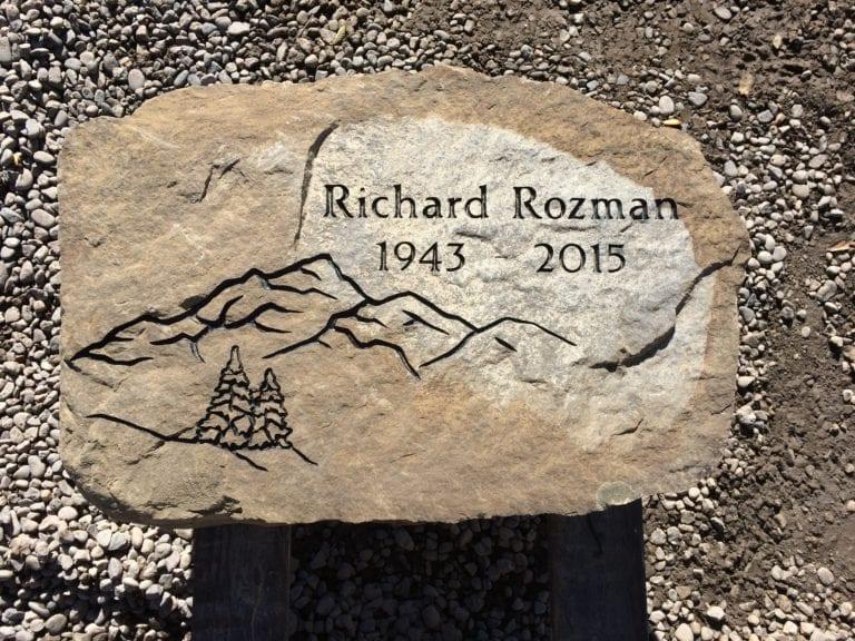 Rozman Custom Boulder Memorial