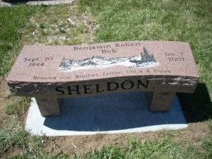 Sheldon Bench Memorial