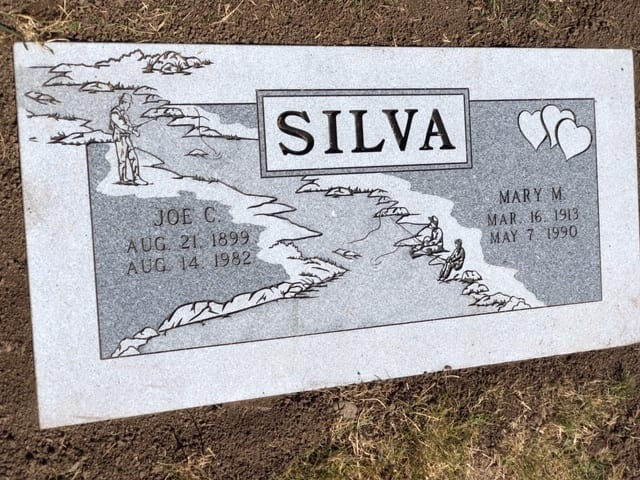 Silva Flat Gravestone