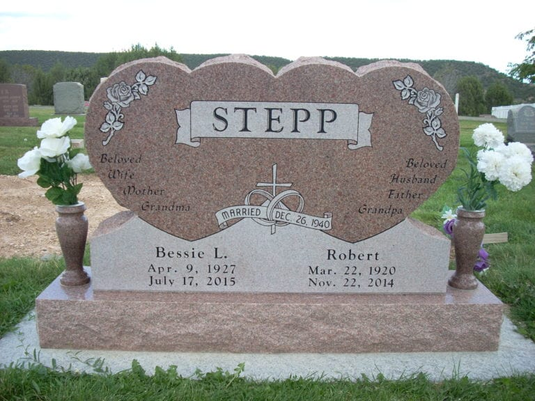 Stepp Upright Tablet Monument