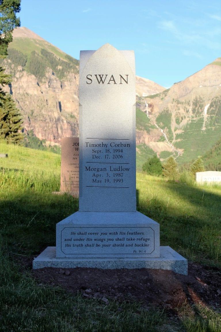 Swan Custom Memorial