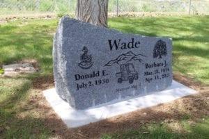 Wade Custom Memorial