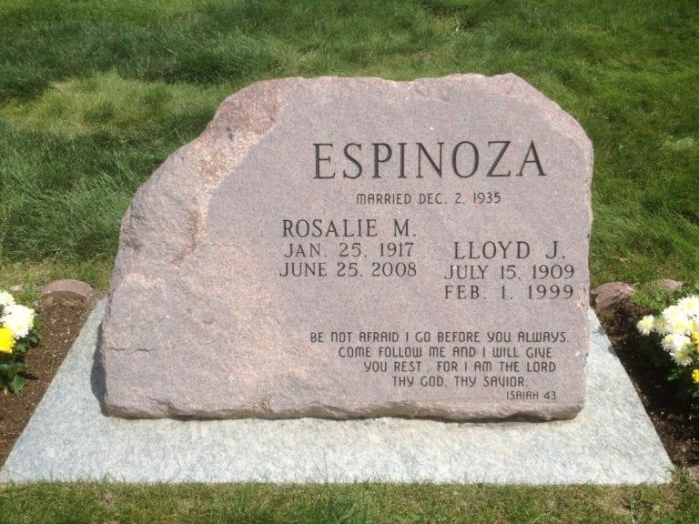 Espinoza Custom Memorial
