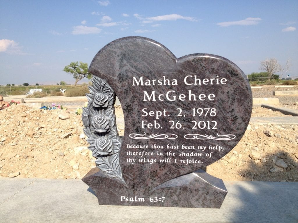 McGehee Upright Tablet Monument