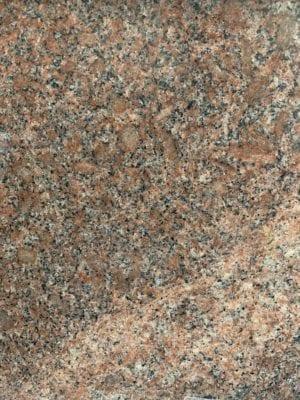 Colonial Rose Red Granite Sample