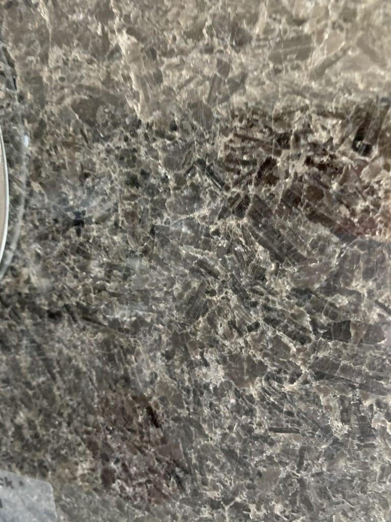 Mesabi Black Granite Sample