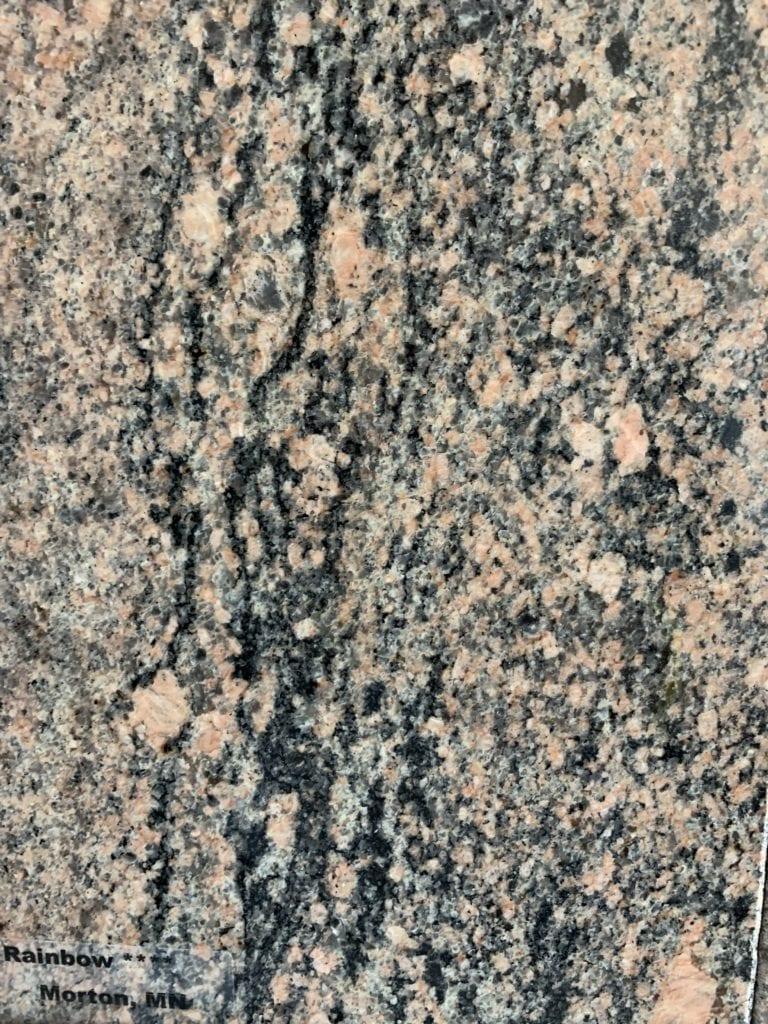 Rainbow Granite Sample