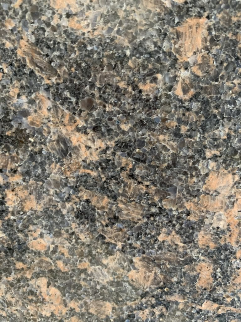 Royal Sable Granite Sample