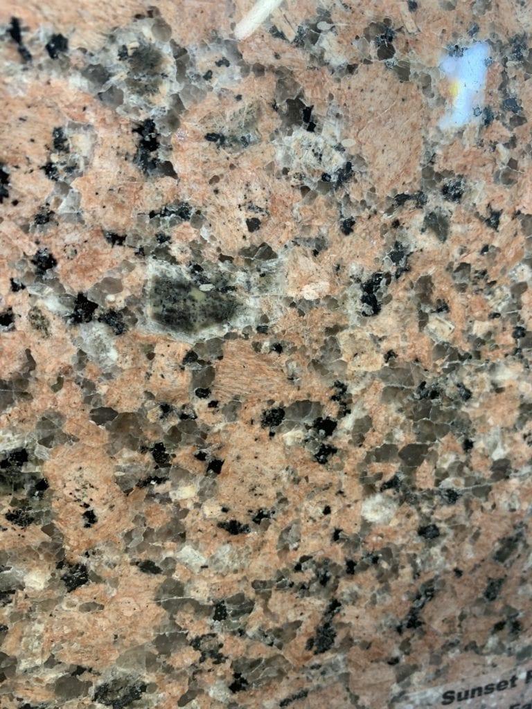 Sunset Red Granite Sample