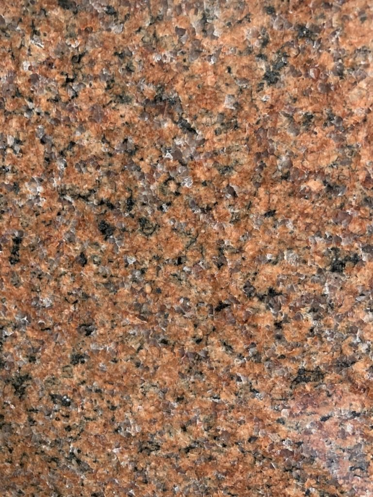 Wausau Red Granite Color Sample